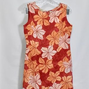 Tommy Bahama Silk Floral Hawaiian Print Dress 4